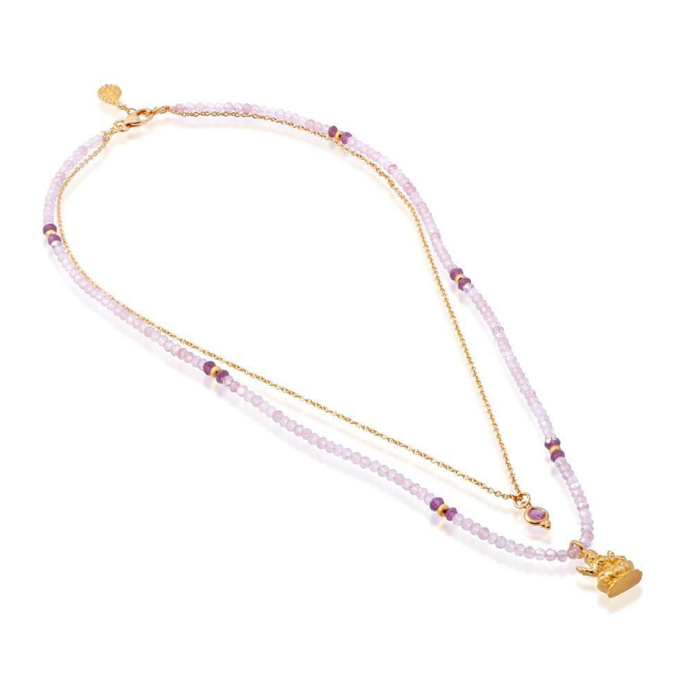 Lakshmi Nadi Necklace • Gold Vermeil