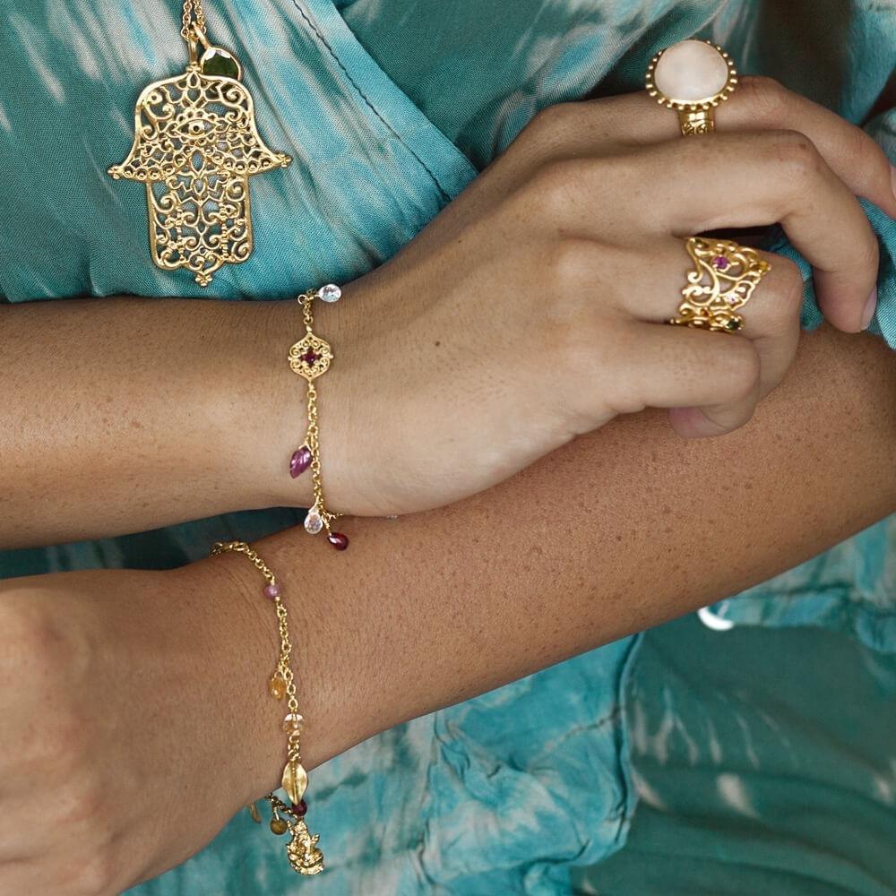 Sacred Heart Bracelet • Gold Vermeil 00017