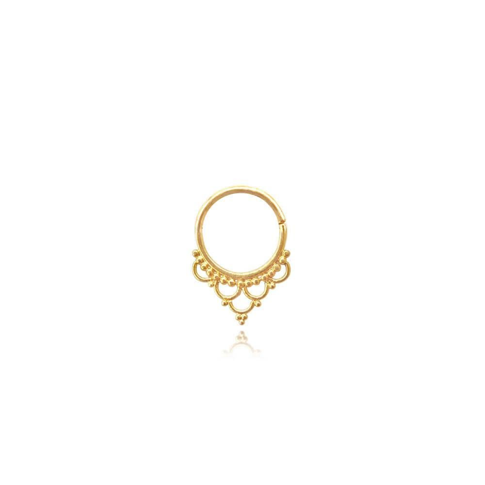 Luminous Soul • Septum Piercing • 22 Carats Gold