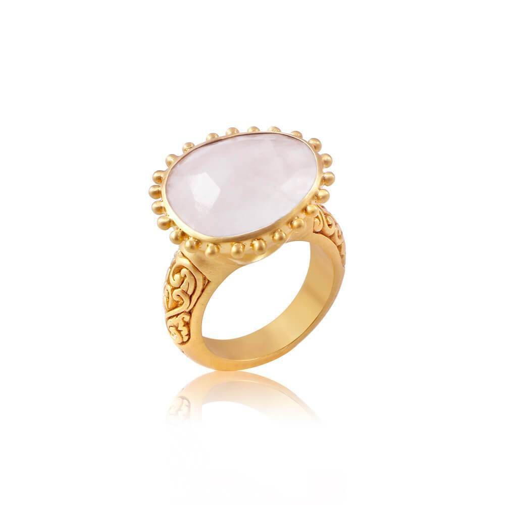 Wise Wild & Free Ring • Moonstone 00025