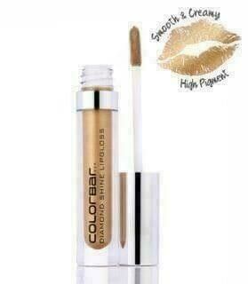 Colorbar Diamond Shine Lip Gloss DSL012 Flossy Gold