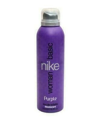 Nike Basic Purple Woman Edt Deo 200Ml