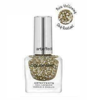 Colorbar ARTEFFECTS NAIL LACQUER Arteffects Nail Lacquer CANN011 Disco Gold