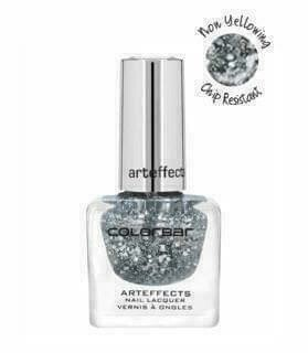 Colorbar ARTEFFECTS NAIL LACQUER Arteffects Nail Lacquer CANN010 Retro Silver