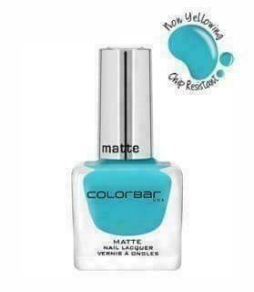 Colorbar Matte Nail Lacquer CMNN006 Green Haze