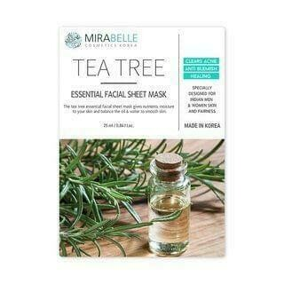 Mirabelle Tea-Tree essential Facial Mask