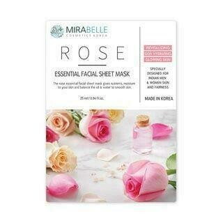 Mirabelle Rose essential Facial Mask
