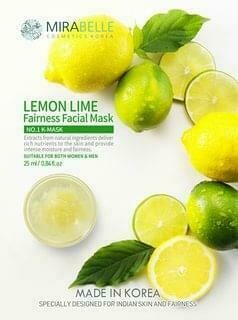Mirabelle Lemon Fairness Facial mask