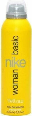 Nike Basic Yellow Woman Edt Deo Spray 200Ml
