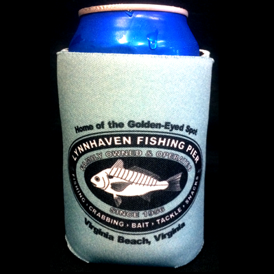 Lynnhaven Pier Logo Can Coozie