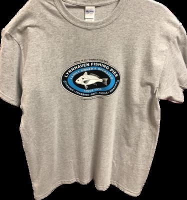 Lynnhaven Pier Logo Front T-Shirt: Unisex