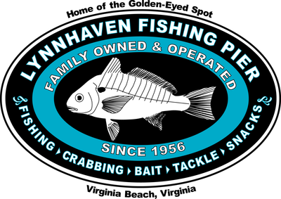 Lynnhaven Pier Logo Front T-Shirt: Women's Hanes Nano T (including plus sizes)
