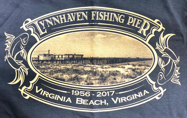 MEDIUM INDIGO Short Sleeve Vintage Postcard T-Shirt with Front Left Chest Logo (Memorial T-Shirt)