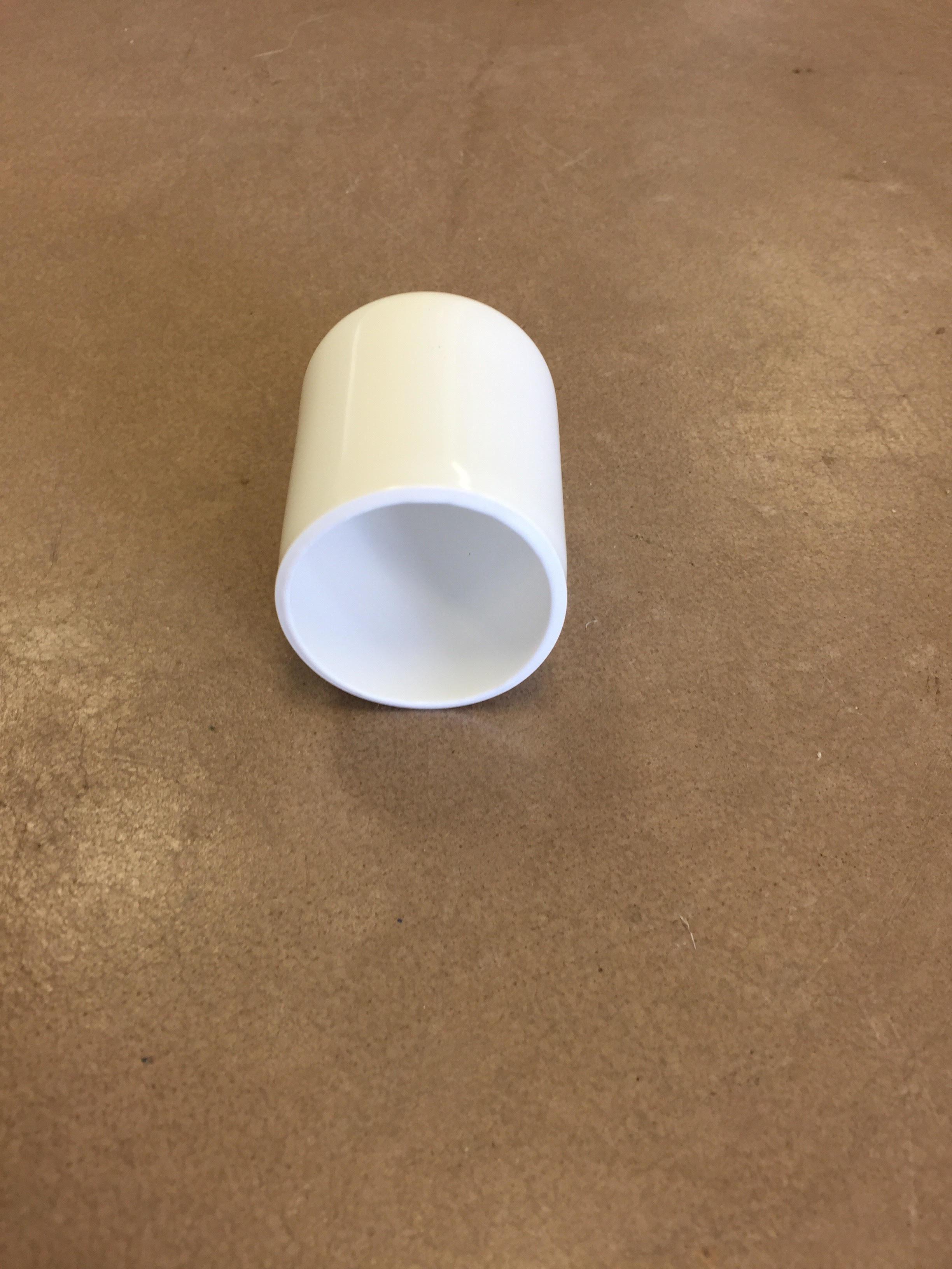 Rubber dock pipe cap