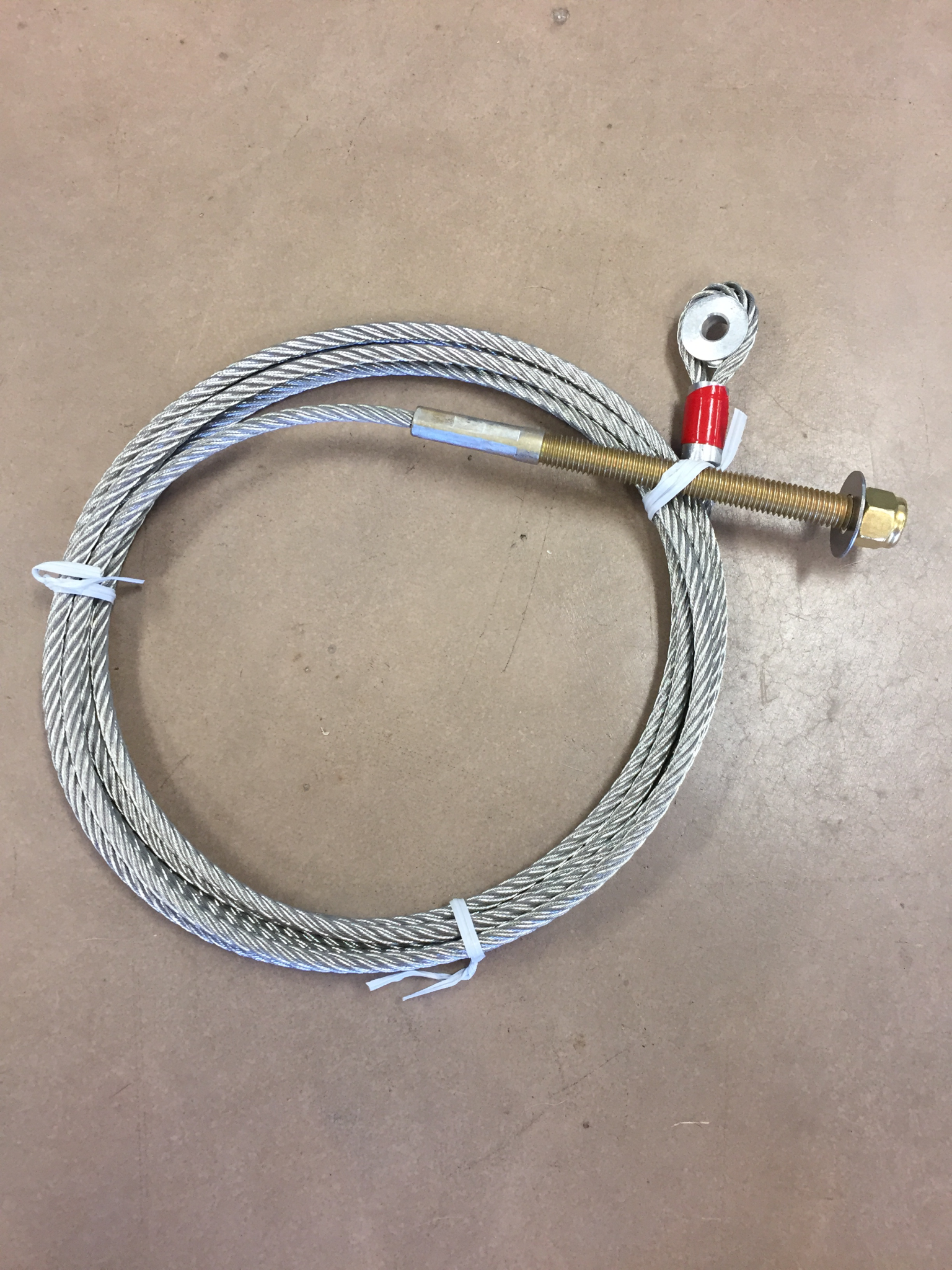 """3000#/4000# rear cable, 114"""" Beam Width CABL4004"""