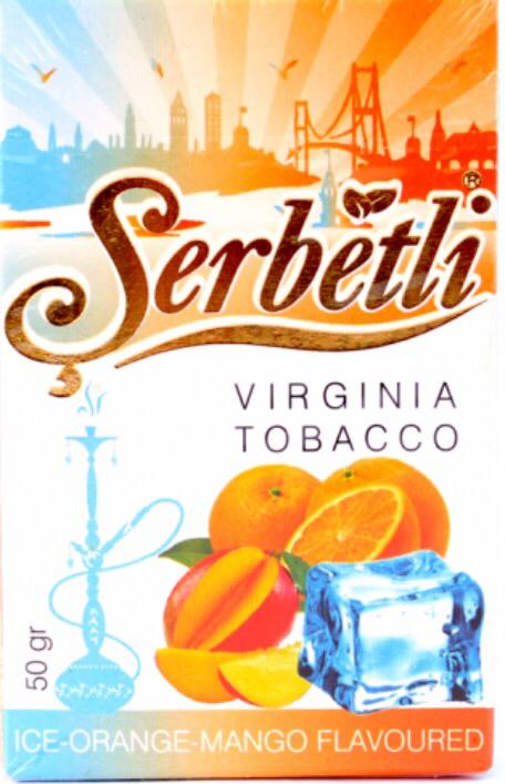 Serbetli Ледянные апельсин и манго
