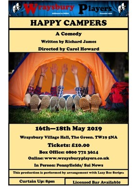 Happy Campers - Saturday 18th May 2019