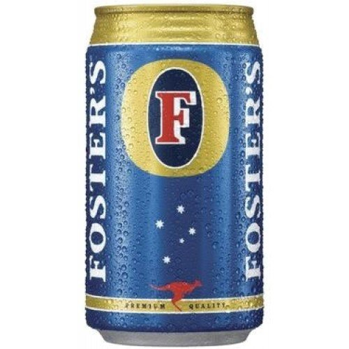 Can of Fosters Lager