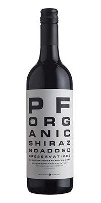 David O'Dea Preservative Free Organic Shiraz 2016 (dozen)