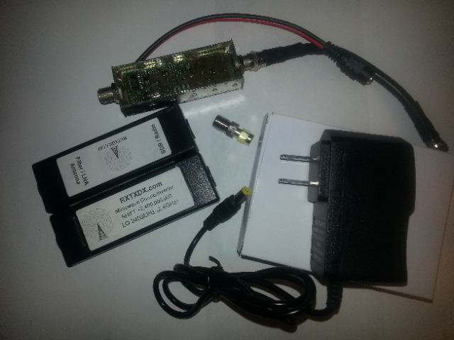 CQMD Microwave Downconverter + Power Supply 00002