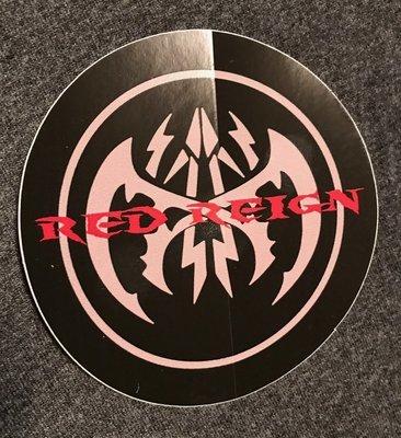 Red Reign Sticker