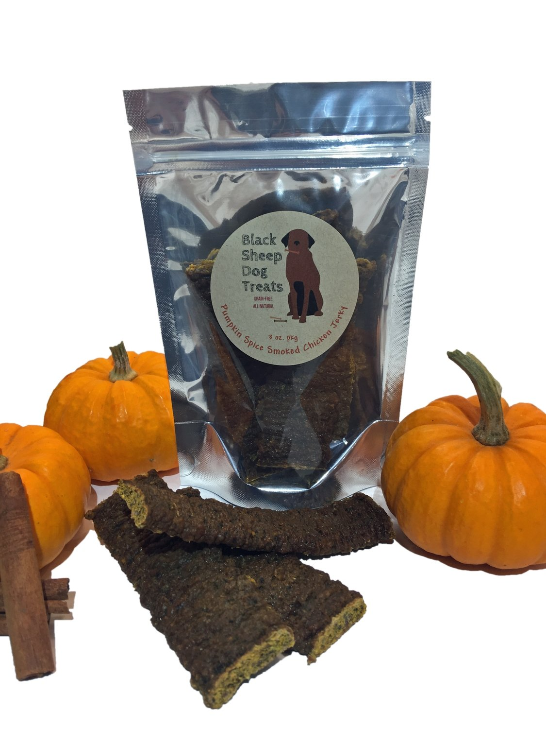 Pumpkin Spice Smoked Chicken Jerky