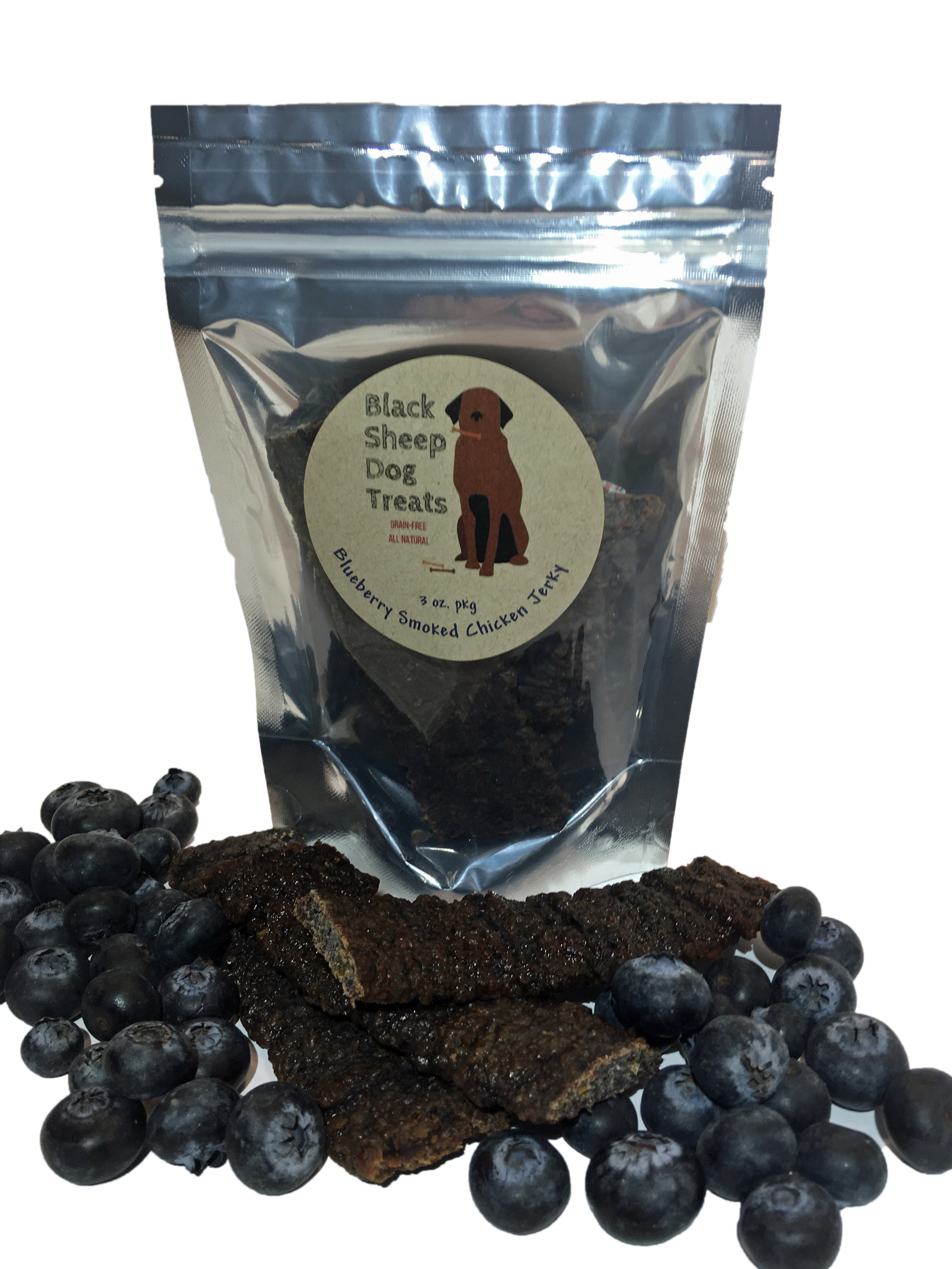 Blueberry Smoked Chicken Jerky 00006