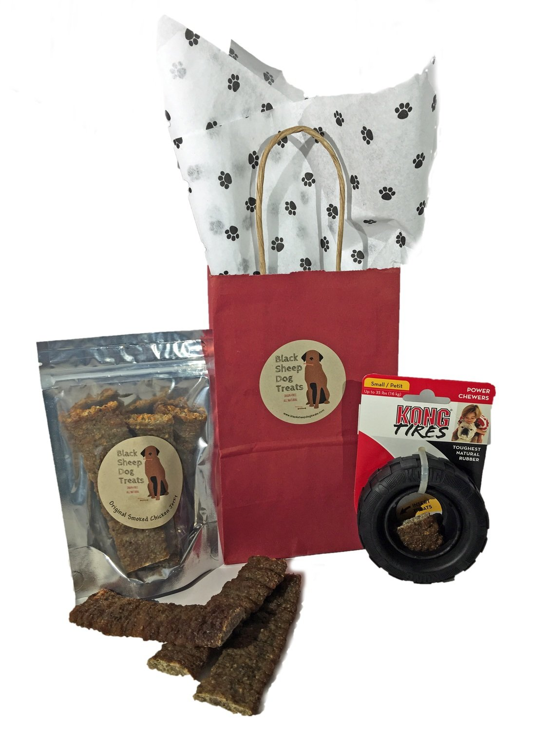 Jerky and KONG TRAXX Toy Gift Set