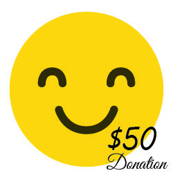 $50 Donation  ( 22 cents a day) 00002