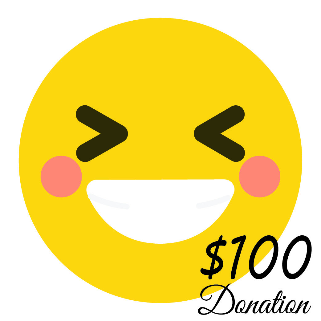 $100 Donation  (55 cents a day) 00004