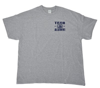 Short Sleeve T-shirt - Grey - Alumni Imprint