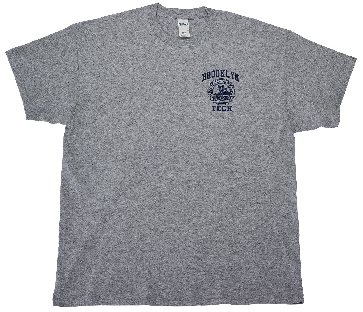 Short Sleeve T-shirt - Grey - Logo Imprint