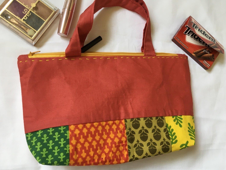 Little patchwork bag