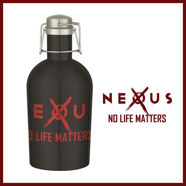 Nexus 64 oz. Stainless Steel Growler NXGR01