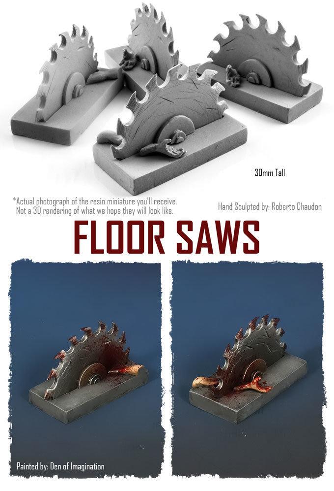 Floor Saws (Set of 4) NXHZD004