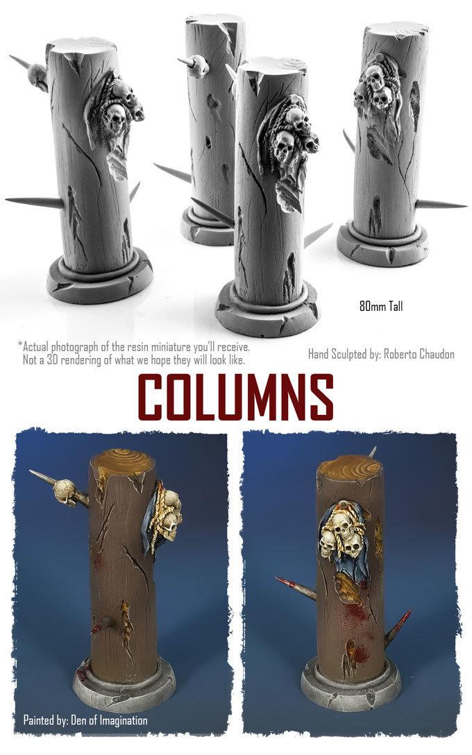 Columns (Set of 4) NXHZD001