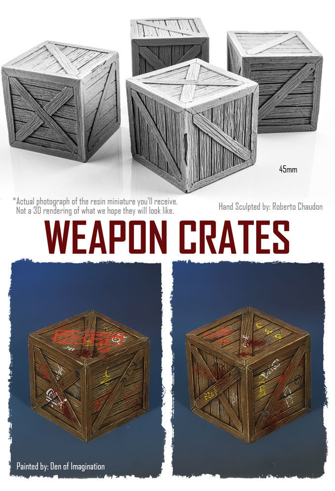 Weapon Crates (Set of 4) NXHZD007
