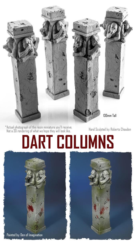 Dart Columns (Set of 4) NXHZD003
