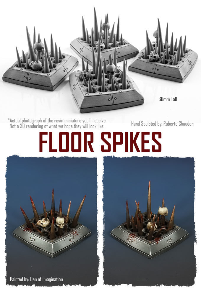 Floor Spikes (Set of 4) NXHZD005