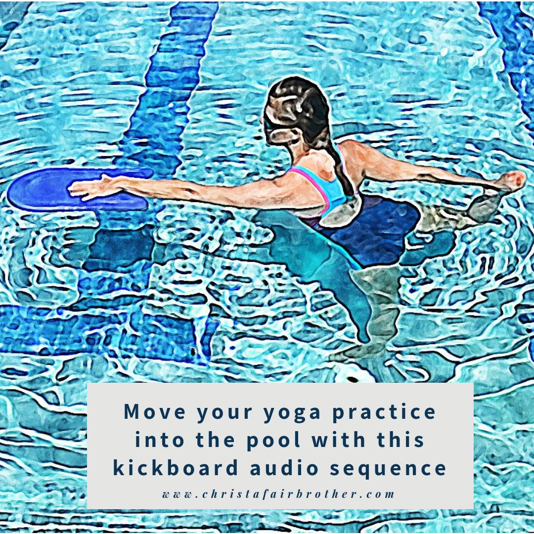 Aqua Yoga Practice Sequence - Kickboard 00027