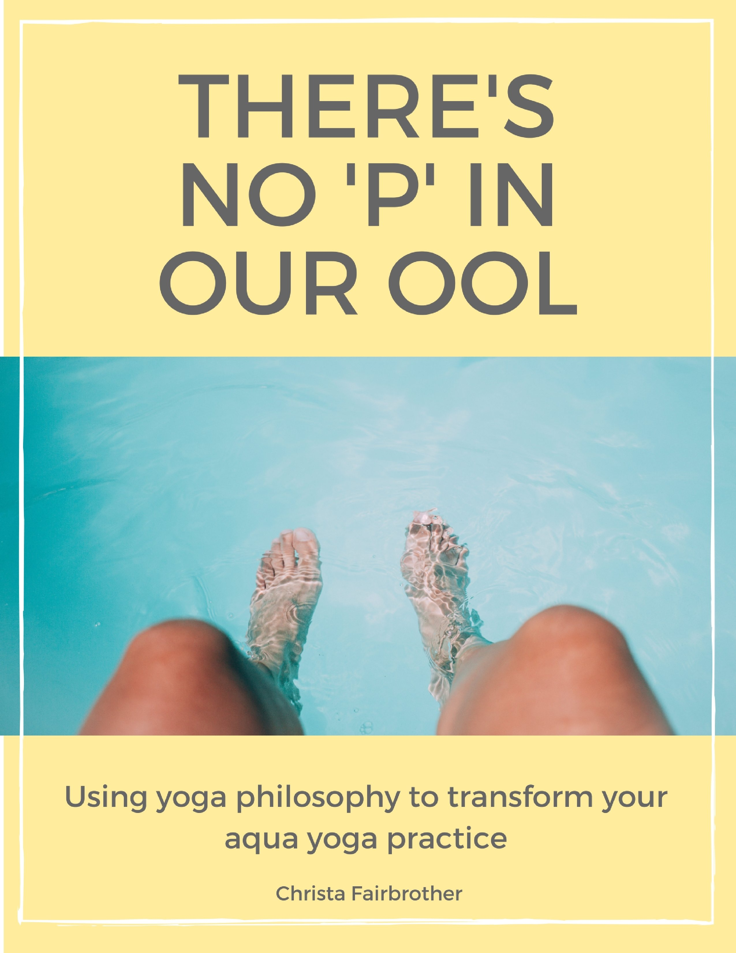 There's no P in our OOL - Spiral Bound Edition 00008