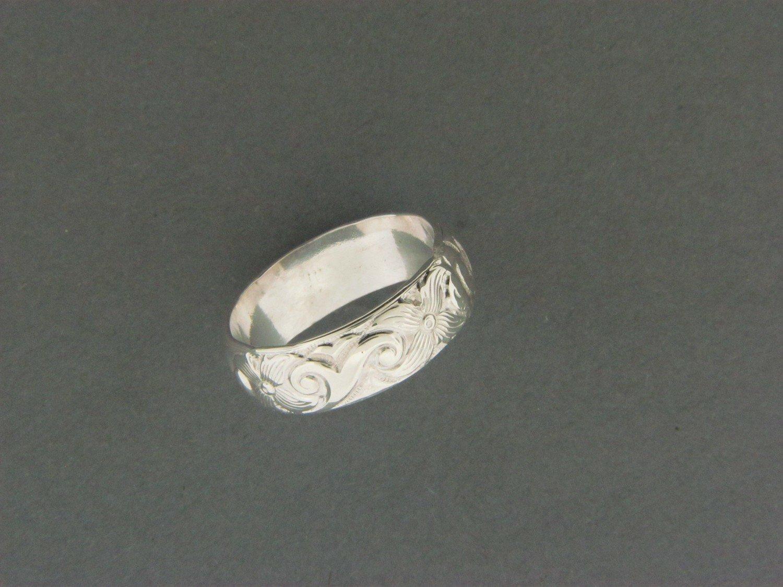 Ivy Print Ring