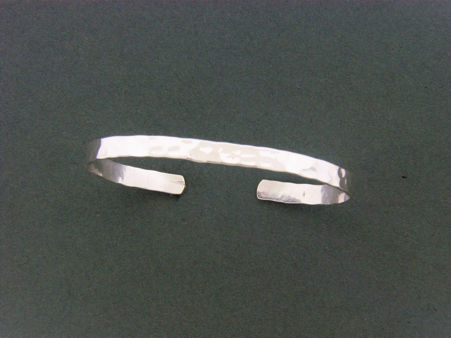 Child's Flat Cuff Hammered