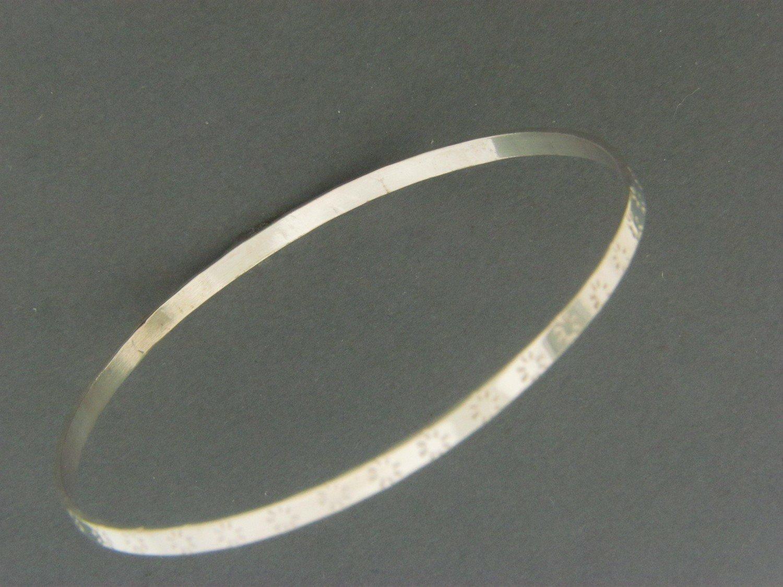 Thin Flat Bangle
