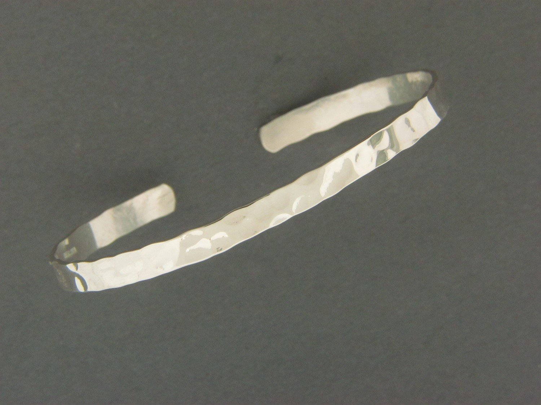 Thin Flat Cuff Bracelet