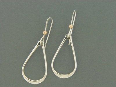 Teardrop French Hook Earring