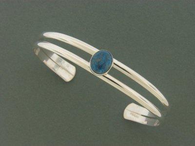Double Band w/Stone Bracelet