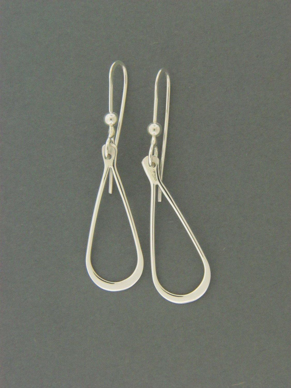 Long Teardrop Earrings