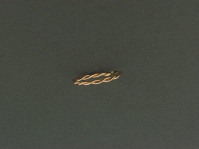 Gold Filled Double Twist Skinny Ring