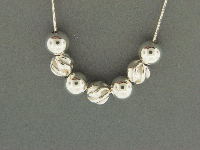 Fancy/Sterling Bead Pendant